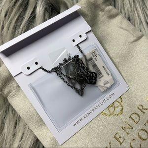 Kendra Scott Jewelry - NWT🌞Kendra Scott Black Druzy Necklace🌞